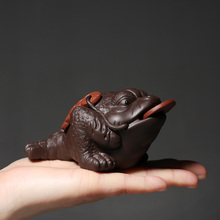 PINNY 6 Kinds Purple Clay Cute Tea Pets Chinese Kung Fu Accessories Ceramic Ceremony Decorations Sand Crafts