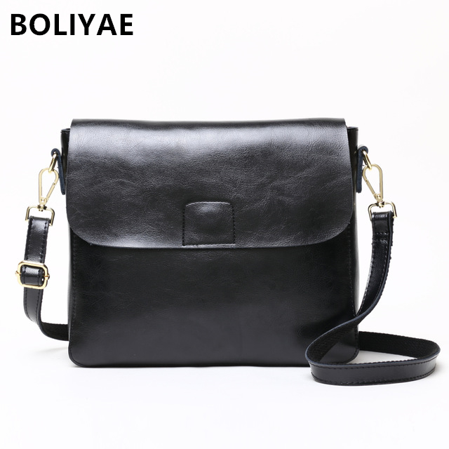 BOLIYAE New Arrival luxury Chain Flap bag Simple Design Small Female Shoulder Bag fashion Cowhide Crossbody bag Women PurseBOLIYAE New Arrival luxury Chain Flap bag Simple Design Small Female Shoulder Bag fashion Cowhide Crossbody bag Women Purse