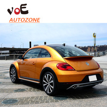2013 2014 2014 2016 Beetle ABS Plastic Auto Car Unpainted Primer Gary Rear Wing Trunk Lip Spoiler for Volkswagen Beetle
