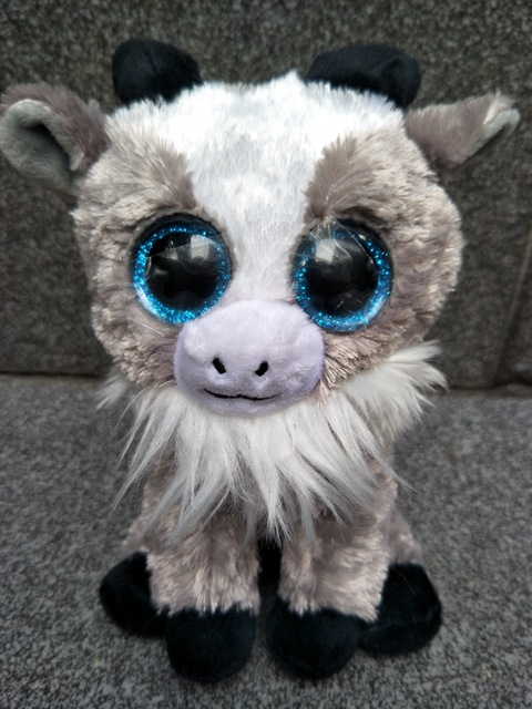 2017 New 15cm Ty Beanie Boos Goat Plush Toy Soft Stuffed Animal Doll