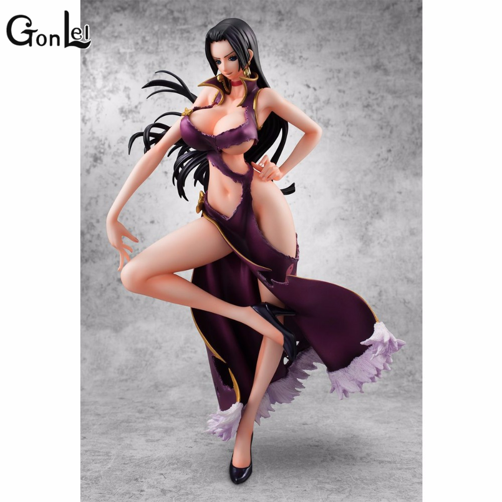 GonLeI Anime One Piece Boa Hancock Ver.3D2Y Limited Edition Sexy Girl PVC Action Figure Resin Model Doll Toy Gifts Doll точилка пластиковая maped stop signal одно отверстие с контейнером