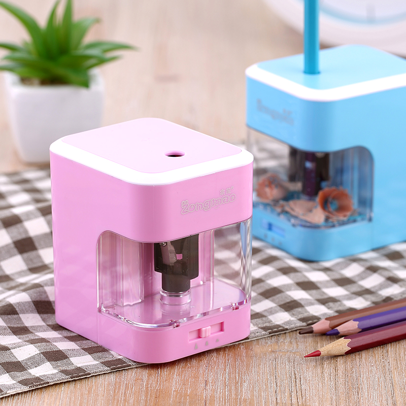 Primary school students pencil sharpener pencil sharpener child electric pencil sharpener fully-automatic multifunctional pencil