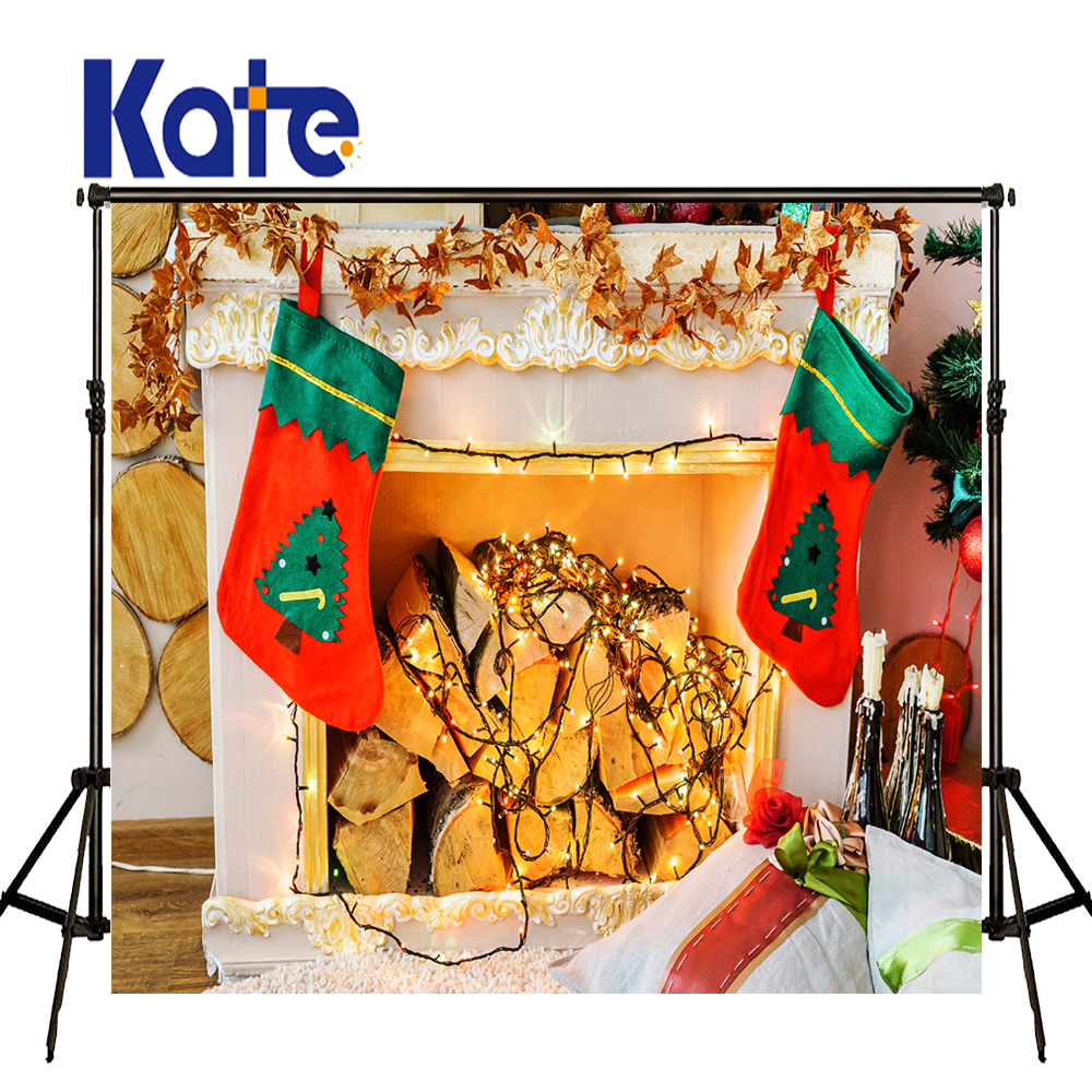 KATE Photo Background Christmas Photo Backdrop Decorative Fireplaces Backdrops for Home Luces De Navidad Photo for Children seattle mariners felix hernandez photo photo sport poster