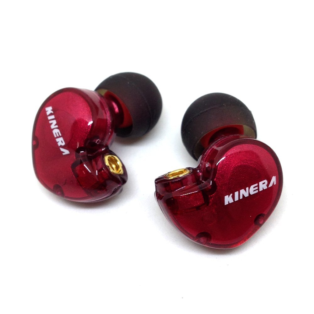 Original KINERA BD005 1DD With 1BA Hybrid Drive  HIFI In-Ear Earphone original kinera bd005 in ear earphone monitor dynamic with 1 ba hybrid headset hifi diy earbuds microphone free ship