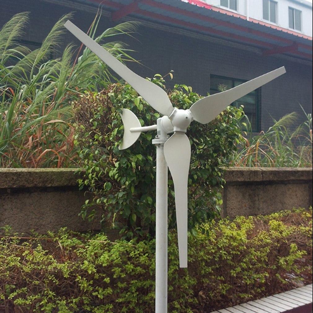 Éolienne ménage Mini générateur 50 W/100 W Dc 12V production d'énergie éolienne