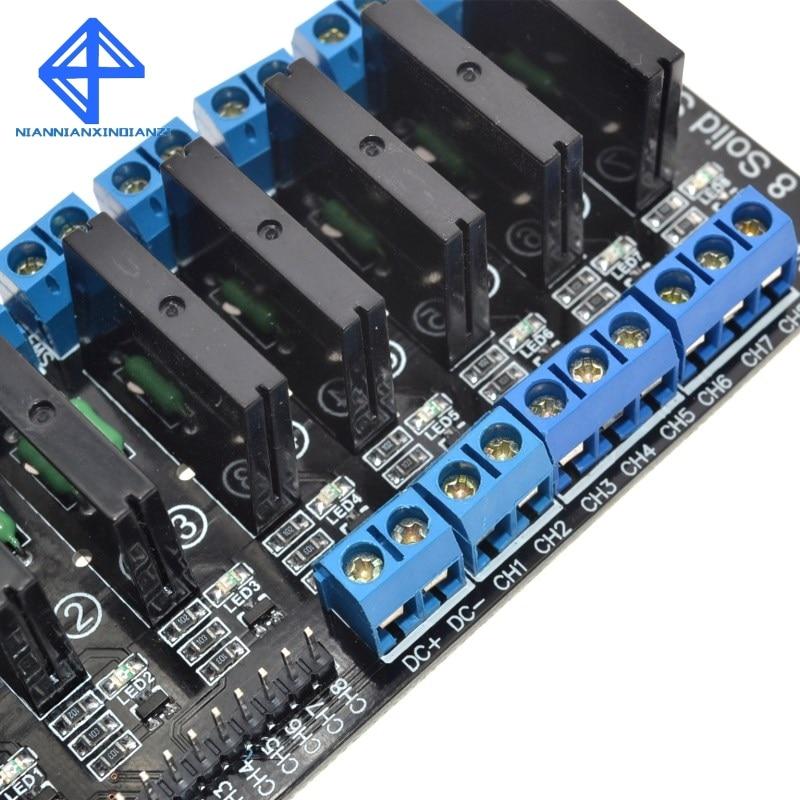 2 Channel SSR Solid State Relay Module 5V 2A F  Arduino UNO R3 2560 Raspberry PI