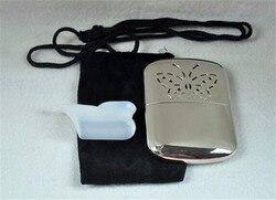 Tragbare Taschenhandwärmer Silber Innen Und Außen Jagd Handlich Wärmer Heizung
