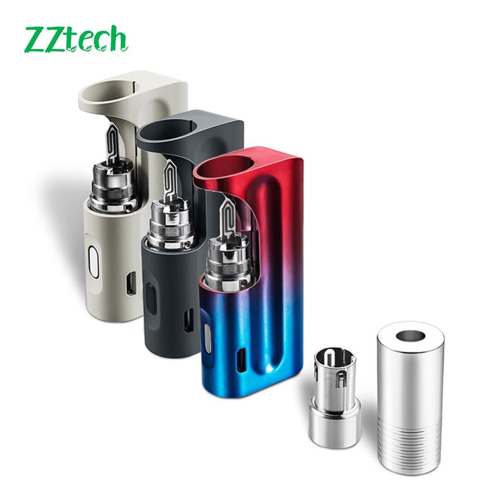 ZZtech A1 original heat without burn Vaporizer Original not fire vape pen  with 1300mah vape kit electronic cigarette for heets