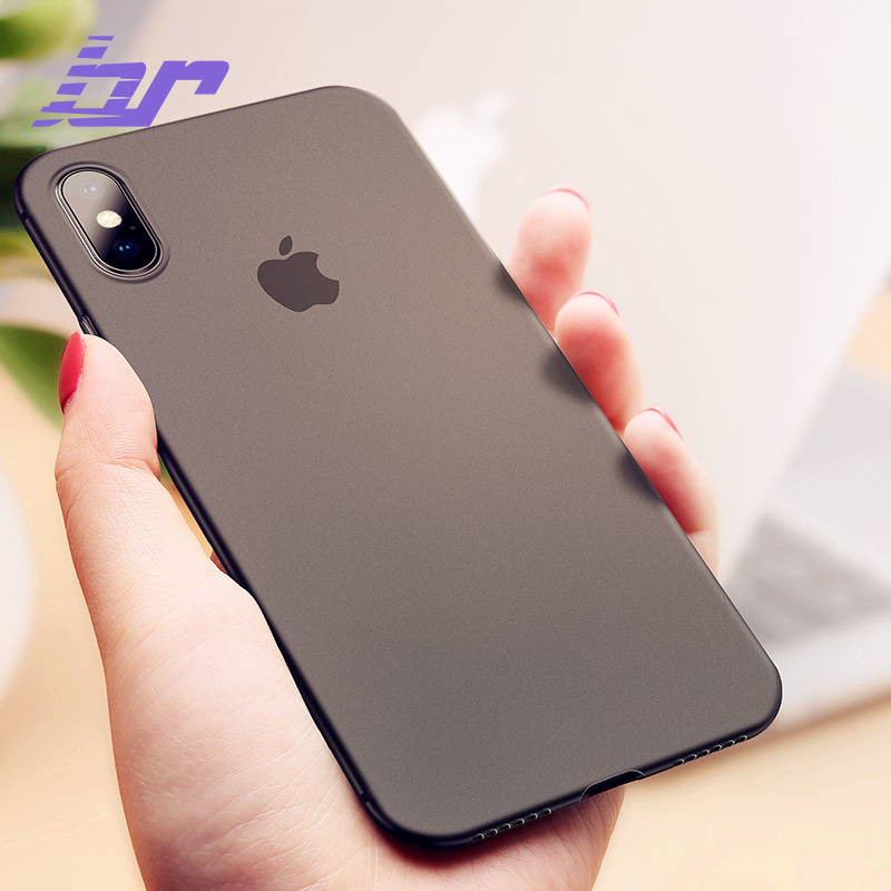 BR Luxury Phone Case For iPhone X Cases Ultra Thin PC Slim Transparent Back Cover Case For iPhone X 10 Phone Full Cover Shell