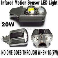Открытый из светодиодов уличные фонари 20 Вт наружного освещения датчик движения из светодиодов управления / микроволновая печь зондирован