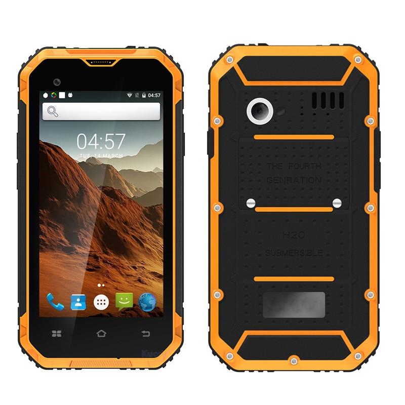 """bilder für Original kcosit k1 android 6.0 smartphone ip68 wasserdichte handystoßfest mtk6580 quad core 4,5 """"qhd 1 gb ram gps"""