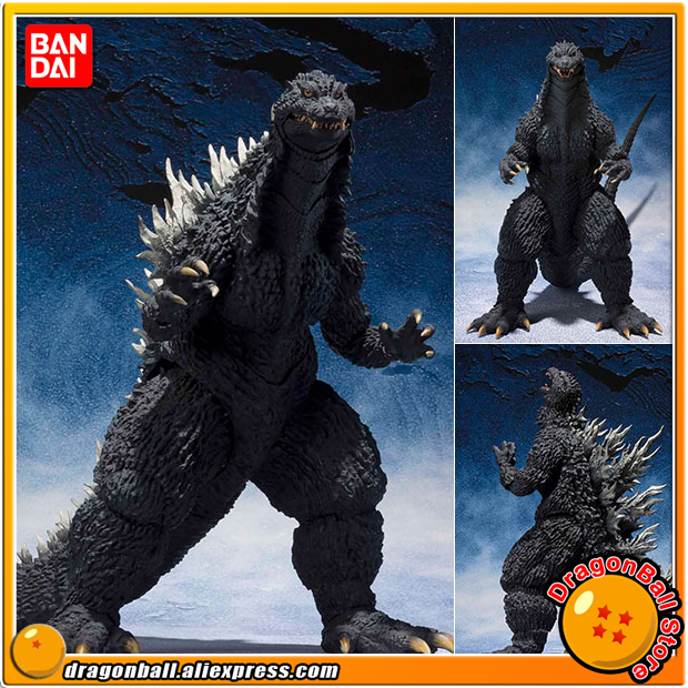Anime Godzilla Against Mechagodzilla Original BANDAI Tamashii Nations S.H.MonsterArts (SHM) Action Figure - Godzilla (2002) client side action against cross site scripting attacks