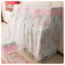 Piano Covers Dust Covers princess girl room Dec beauty voile style pink voileKorea home textile FG210