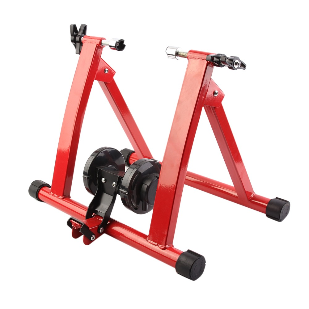 2018 Steel Cycling Indoor Training Station Men Women Mountain Biking Bicycle Station Bike Indoor Exercise Trainer Stands free indoor exercise bicycle trainer 6 levels home bike trainer mtb road bike cycling training roller bicycle rack holder stand