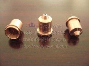 Image 2 - 200 Uds 45A consumibles (boquilla 220671 + electrodo 220669) para cortadora por Plasma, T45v/T45m antorcha, envío gratis por EMS[PMX45]