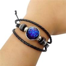 2019 fashion bracelet twelve constellation temperament rope retro zodiac womens simple gift set ornament adjustable