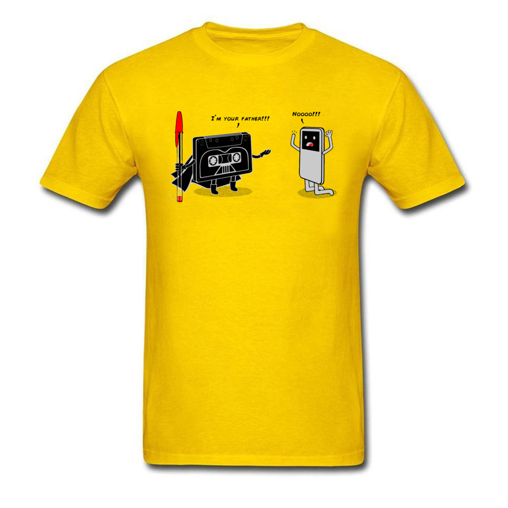 iamyoufather0621 Family T-Shirt for Men 100% Cotton Lovers Day T Shirt Summer Tshirts Short Sleeve Designer Round Collar iamyoufather0621 yellow