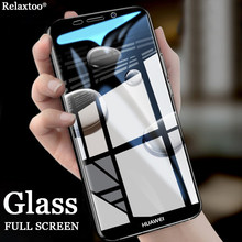 Tempered Glass Case For Huawei Honor 9 Lite Screen Protector For Honor 10 Lite P Smart 9i 8 6C Pro V9 V10 6X 7X Full Cover Film(China)