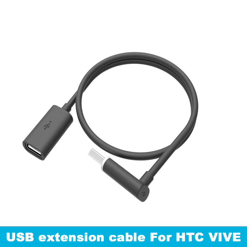 For HTC Vive Headset Helmet USB Extension Cable HTC VR Data Cable 45cm 2.0 Original Accessories