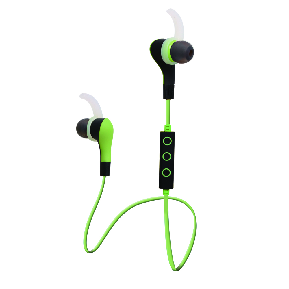 Bluetooth Wireless Headset With Microphone for Iphone Android Smartphone Fashion Mini Ear Hook Headphone for Video