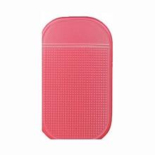 TOYL 2 PCS Car Magic Phone Non slip Mat GPS Phone Holder Pink