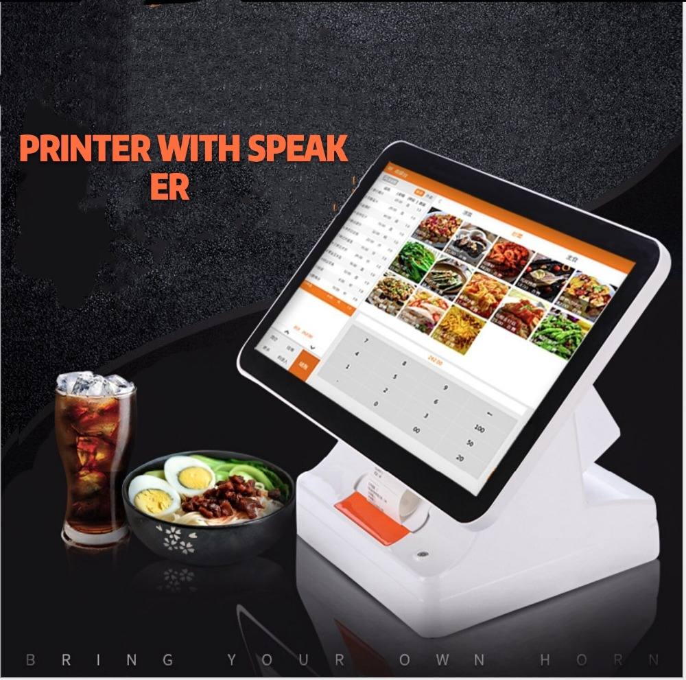 15.6-inch Touch Screen PoS All-in-one Android POS Terminal Machine For Supermarket