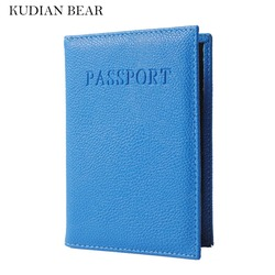 Kudian bear card holder women travel passport cover unisex rfid wallet card holder the cover of.jpg 250x250