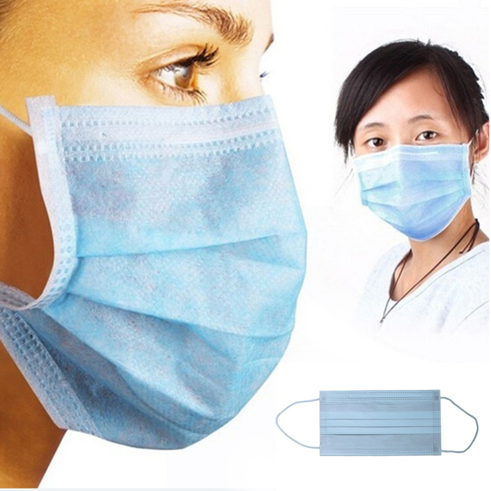 Dust 20pcs Earloop Face Masks Anti Ply 3 Dental Disposable lot