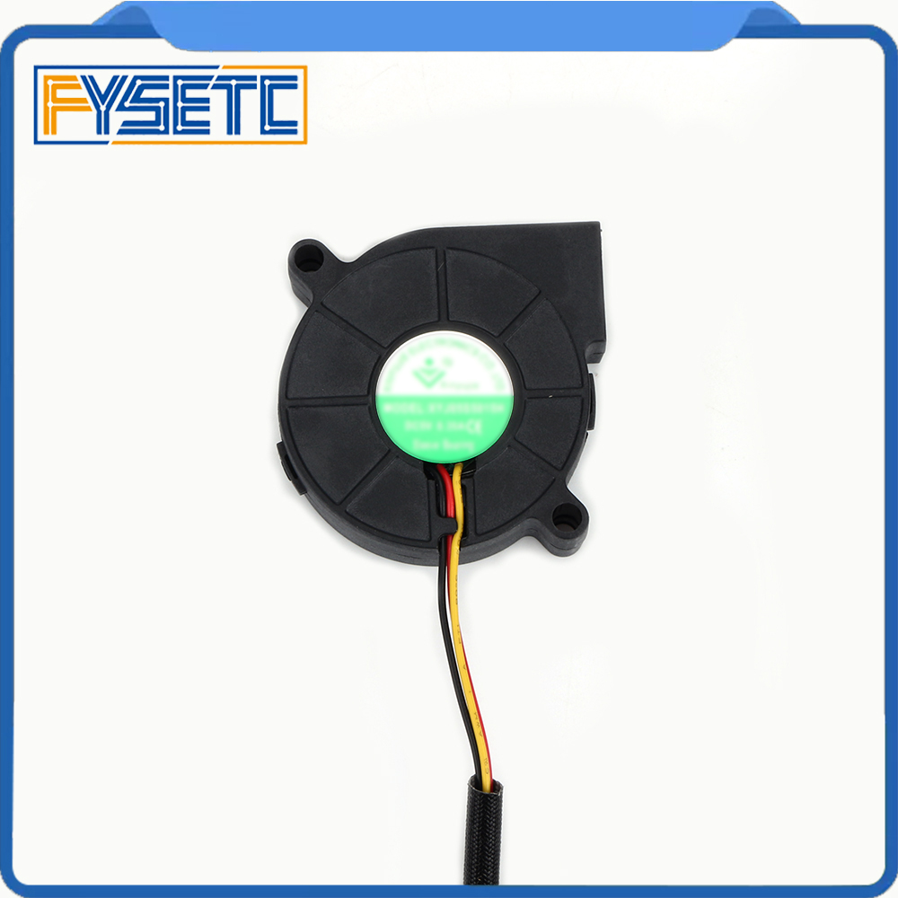 Prusa i3 MK3 3D Printer Parts DC 5V 5015 Blow Radial Cooling Fan Hydraulic Sleeve Bearing Super Silent Front Fan Cooler Radiator