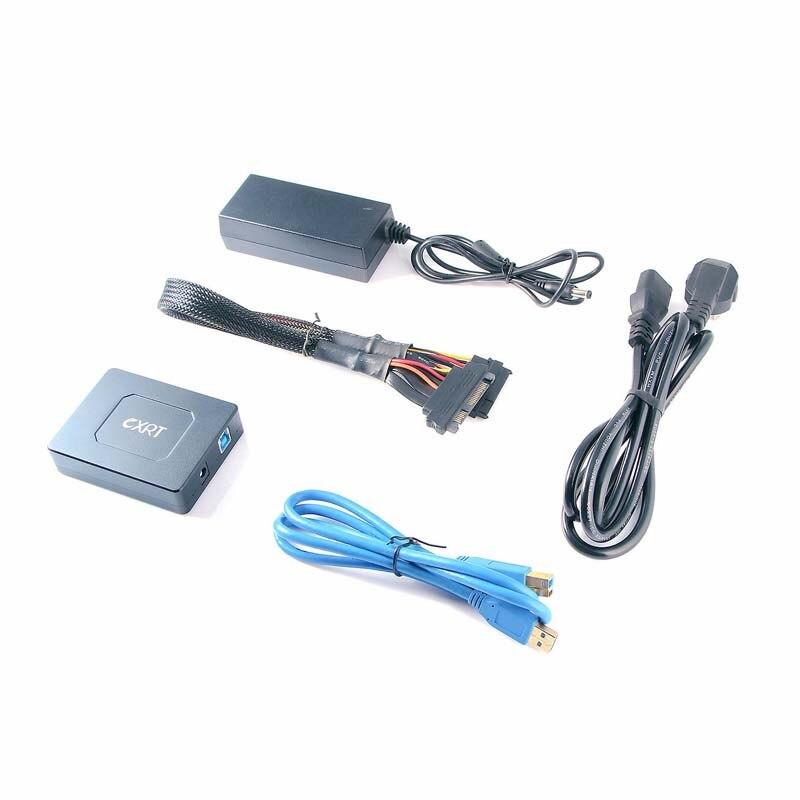 Lecteur SAS vers USB 3.0 adaptateur câble convertisseur universel SAS lecteur graveur pour serveur HDD SSD 2.5