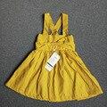 Дети девушка летнее платье принцессы свадебное vestidos infantil одежда девочек рукавов платья для девочек детская одежда