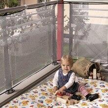 Новая детская прозрачная утолщенная ограждение защитная сетка для балкона ограждение для безопасности ребенка защитная сетка для балкона