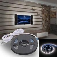 10 шт. USB Светодиодные ленты огни SMD3528 200 см светодиодный ленты лампы Крытый Открытый украшения