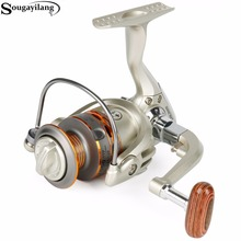 Sougayilang 2000-5000L Feeder Carp Reels Speed 5.5:1 Gear Ratio Right Left Hand Sea Fishing Reel 12+1BB Saltwater Spinning Reel