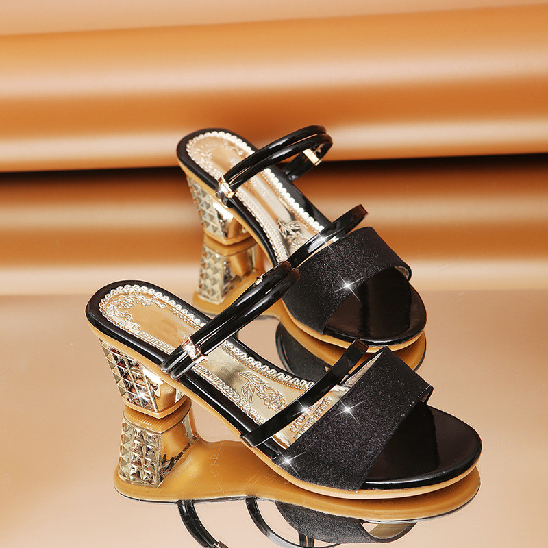 Woman Sandals Shoes Slippers 2019 Summer Style Wedges Pumps High Heels Slip On Bling Fashion Gladiator Woman Sandals Shoes Slippers 2019 Summer Style Wedges Pumps High Heels Slip On Bling Fashion Gladiator Shoes Women