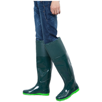 2017 hot sale pvc asker  winter water bots men winter fishing boots  for Men antiskid  boots galoshes men knee high boots