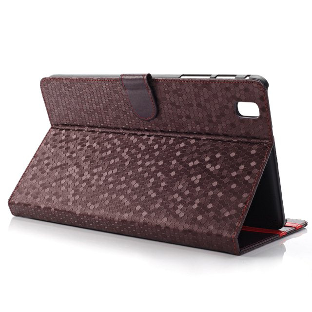 Fashion Diamond Grain Stand PU Leather Holder Cover Shell Protective Case For Samsung Galaxy Tab Pro 8.4 T320 T321 T325 Tablet
