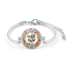 VILLWICE Handmade Bible Verse Bracelet Art Glass Dome Charms Bracelet Scripture Quote Jewelry Christian Party Favor Gifts cheap Charm Bracelets Zinc Alloy Unisex Lobster Classic Glue Round Link Chain Mood Tracker All Compatible XSL00X Fashion 20mm