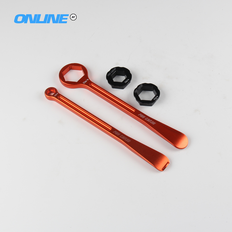 Motorcycle Tyre Iron Set Changing Tool Kit Raceline Levers Hex Wrench Spanner Head 10MM 22MM 27MM 32MM For Japananese Bike