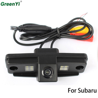 CCD Chip Car Rear View Reverse CAMERA For SUBARU FORESTER OUTBACK IMPREZA SEDAN Tribeca With Guide