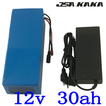 12V 30Ah 3S12P 11.1V 12.6V High-power Lithium Battery Pack for Inverter Xenon Lamp Solar Street Light Sightseeing Car Etc
