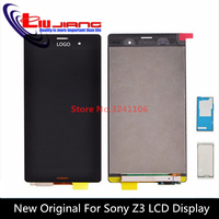 XIANHUAN 100 Tested LCD Screen Digitizer Assembly With Frame For Sony Xperia Z3 L55U D6653 D6633