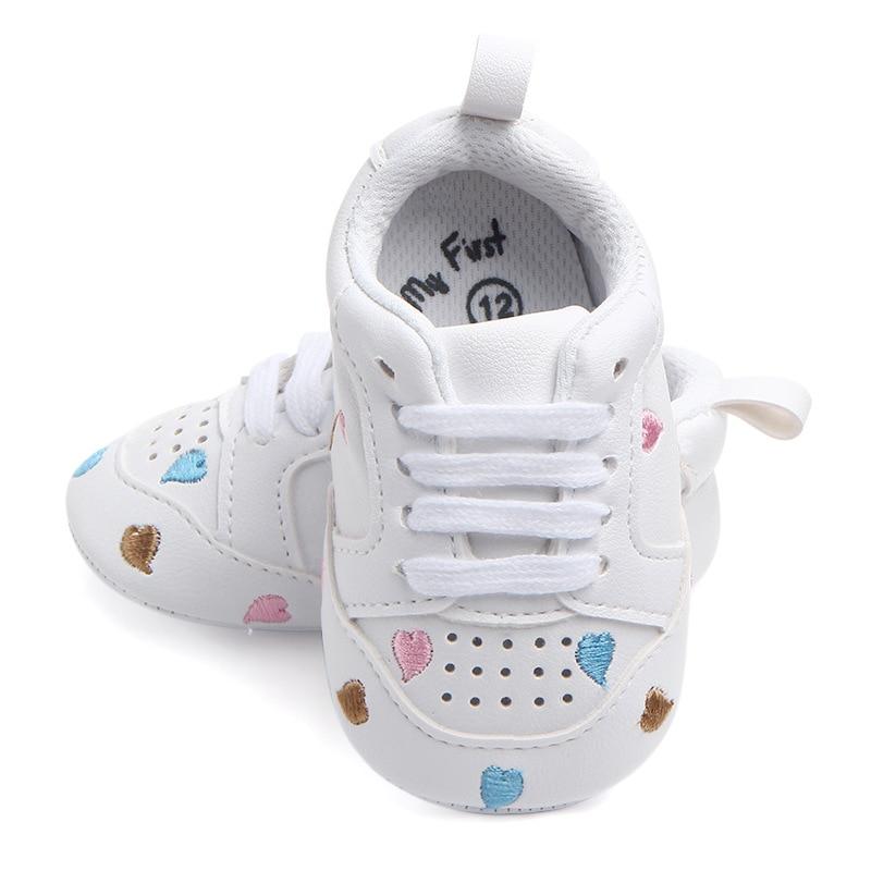 Baby Crib Shoes for Boys Miękka podeszwa PU Leather Mokasyny Girl - Buty dziecięce - Zdjęcie 4