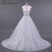 C.V Vestido De Noiva A Line Wedding Dress V Neck Beaded Sash Backless Sexy Vintage Bridal Gowns Chinese Wedding dresses W0041