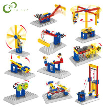 3 IN 1 Compatible with Legoing Mechanical Gear Technic Building Blocks Engineering Children's Science Educational STEM Toys GYH(China)