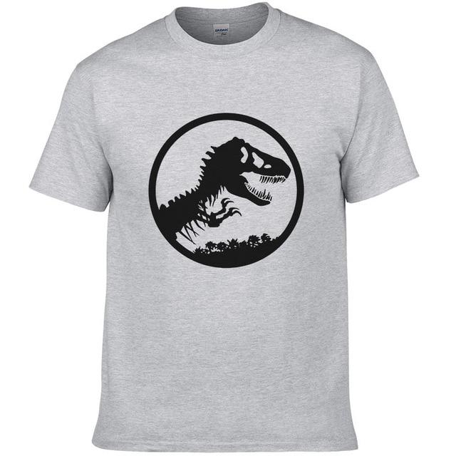 78964c0b Summer Jurassic World T Shirt Men / Women Casual O-neck Cotton Short Sleeve  Dinosaur T-shirt Men Jurassic Park T-shirt Tops Tees
