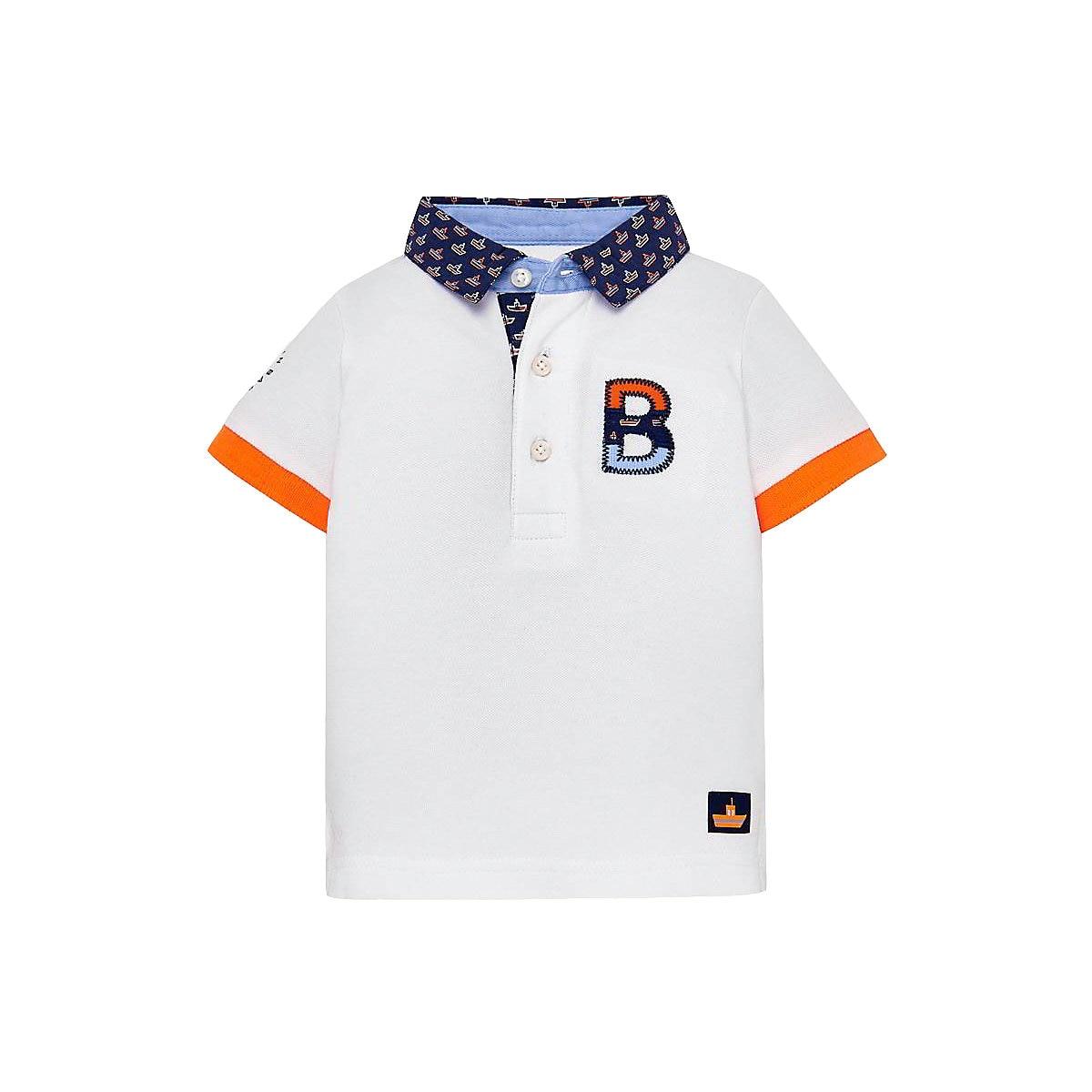 MAYORAL Polo Shirts 10681446 Children Clothing T-shirt Shirt The Print For Boys