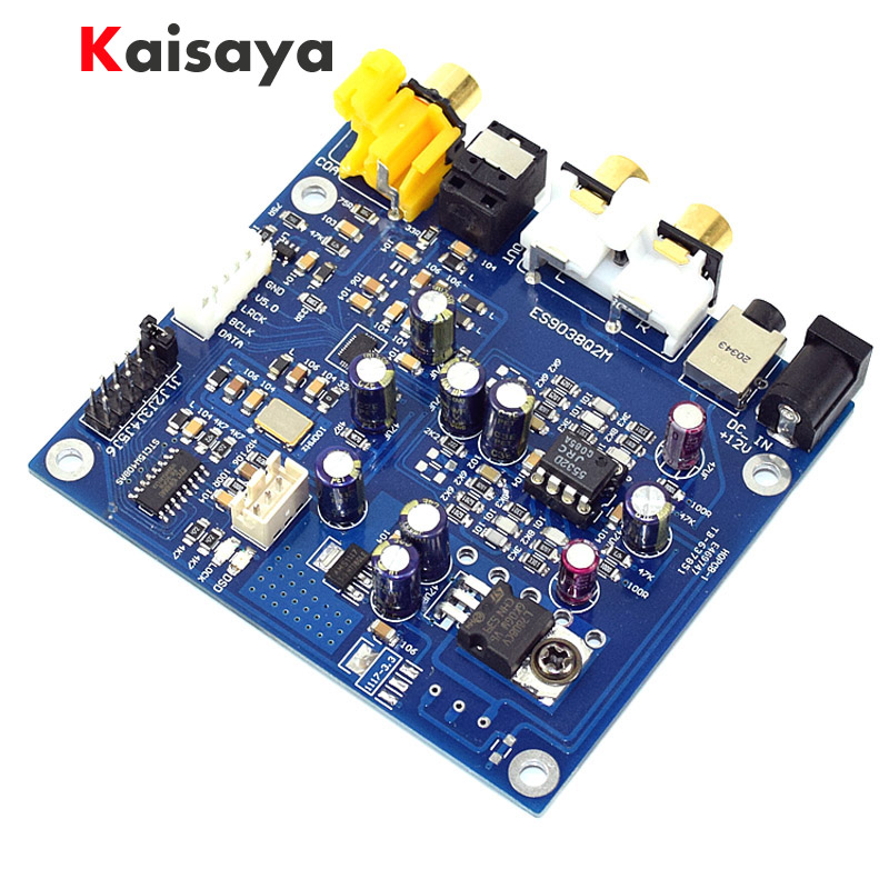 Amiable Es9038 Q2m I2s Dsd Optical Coaxial Input Decoder Dac 3.5mm Headphone Output Hifi Audio Amplifier Board Good Heat Preservation Back To Search Resultsconsumer Electronics Amplifier