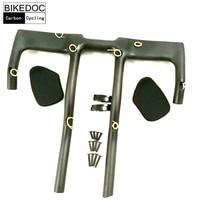BIKEDOC Carbon TT Bar Time Triathlon Handlebar Made In China Bicycle Carbon TT Handlebar