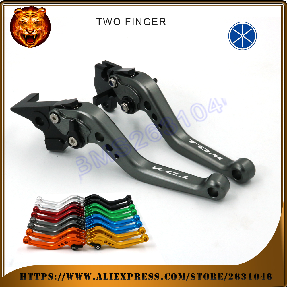 Adjustable Brake Clutch Levers For YAMAHA TDM900 TDM 900 2014 900A Free shipping NEW STYLE MOTO MOTOBIKE Motorcycle With logo valberg форт 1368 kl